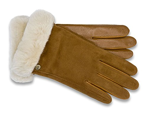 UGG Women's Classic Suede Smart Glove 14 Chestnut SM