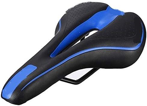 マウンテンバイクサドル 自転車サドル自転車のサドルマウンテンバイクMTBサドル自転車競技自転車サドル黒と青 プロフェッショナル (Color : Multi)