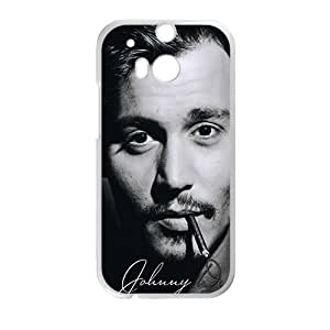 johnny depp smoking Phone Case for HTC One M8