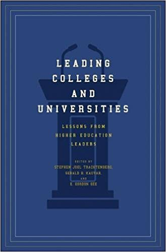 leading colleges and universities lessons from higher education