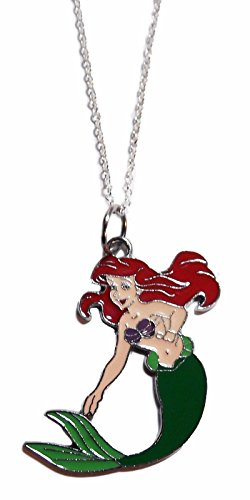 Disney's The Little Mermaid ARIEL Silver Chained (Disney Charm Necklaces)
