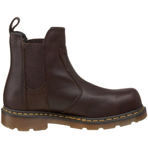 Dr. Martens, Stivali uomo multicolore Black/yellow 45.5