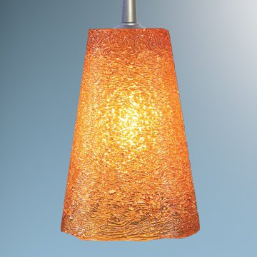 Bling II 1 Light Monopoint Pendant with Canopy Finish: Chrome, Canopy/Bulb type: 2