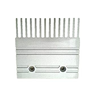 10pcs/pack c751001b202 escalera mecánica peine L127 W123 instalar tamaño 64,14t: Amazon.es: Amazon.es