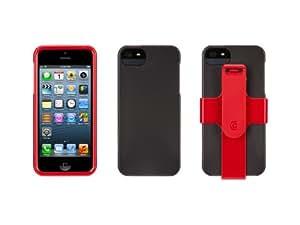 Griffin FastFit - fundas para teléfonos móviles Rojo, Plata