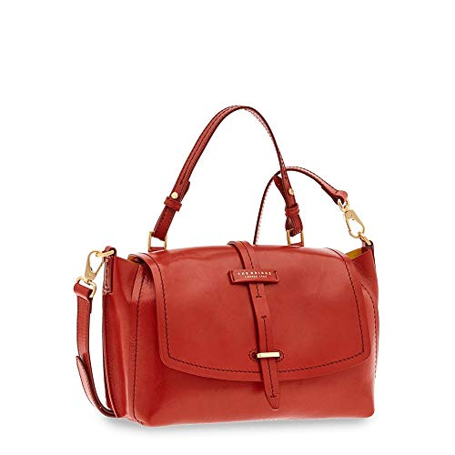 Sac Cm Red À Cuir The Gold Bridge Florentin Currant 30 Main pqwxPEU