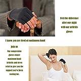 Copper Arthritis Gloves for Women and Men - High