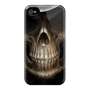 Durable Case For The Iphone 4/4s- Eco-friendly Retail Packaging(skull)