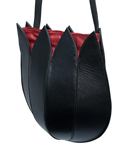 By-Lin Tulip Long Strap classic Black-Red Large