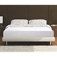 Olee Sleep F09FM03MOLVC Conventional Bed Mattress, Full, White