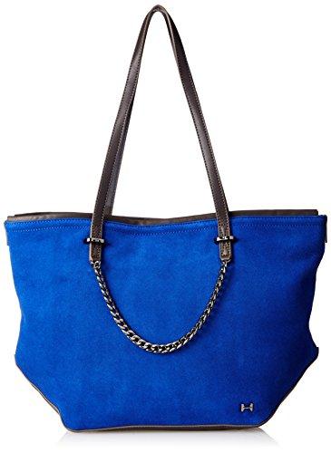 Halston Heritage Tote Handbag - Cobalt Multi - One Size