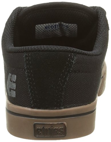 etnies Kids Jameson 2 Eco - Zapatillas de Deporte Unisex Negro (Black Gum Dark Grey 966)
