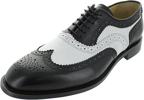 Ex display q501645_Mono, Scarpe Stringate Uomo Nero Black