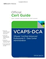 VCAP5-DCA Official Cert Guide Front Cover