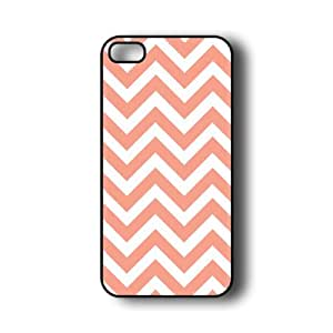 iPhone 5 Case ThinShell Case Protective iPhone 5 Case Chevron Coral