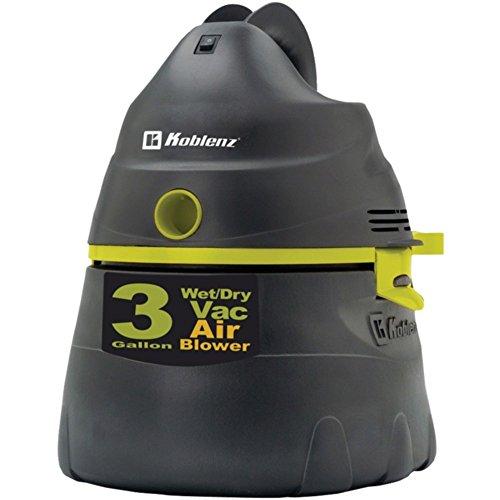 Koblenz WD353K2GUS All-Purpose 3 Gallon Power Vacuum for Liquids & Dry Materials Home & Garden - Koblenz Gallon 3