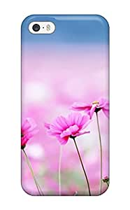Top Quality Case Cover For Iphone 5/5s Case With Nice Flower Appearance