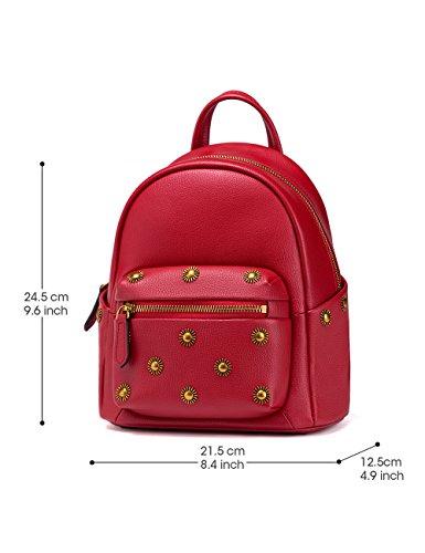 LA'FESTIN - Bolso mochila  para mujer Small Rosso