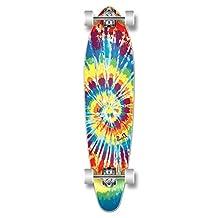 Special Graphic Complete Longboard KICKTAIL 70's shape skateboard w/ 70mm wheels