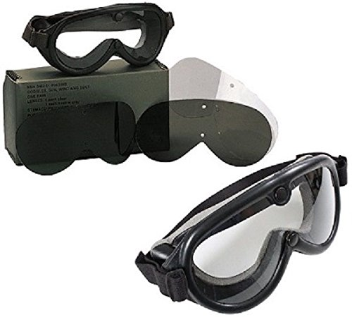 Goggles Genuine Military Issue G.I. Sun Wind & Dust - Issue Army Aviator Sunglasses