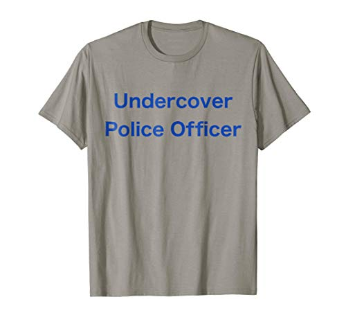Undercover Police Officer Simple Halloween Costume]()