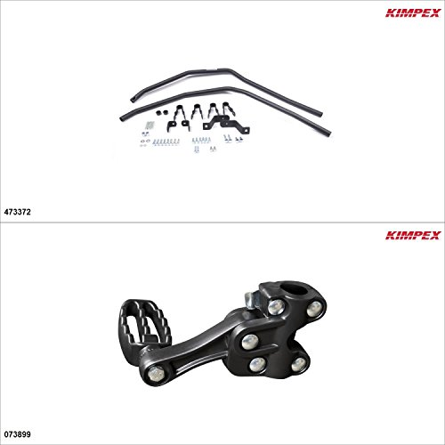 Kimpex – Fender Guards Kit – Black, Kawasaki Brute Force 750 2008-18