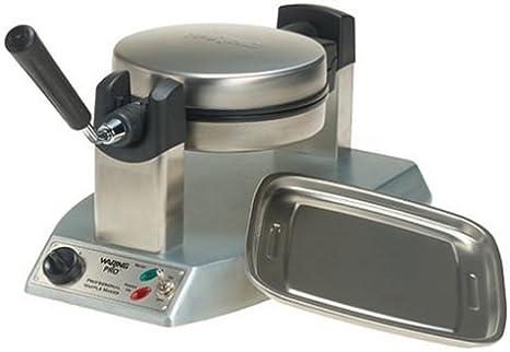 Amazon Com Waring Wmk300 Belgian Waffle Maker Brushed Stainless Belgian Waffle Irons Kitchen Dining