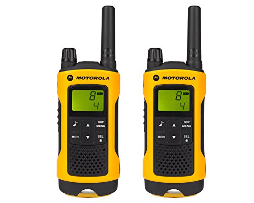 TLKR T80 Extreme – two-way radio – black, yellow