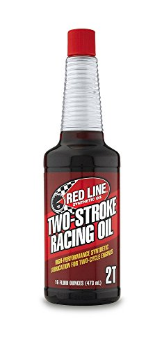 (Red Line 40603 Two-Stroke Racing Motor Oil 16 oz. Bottle)