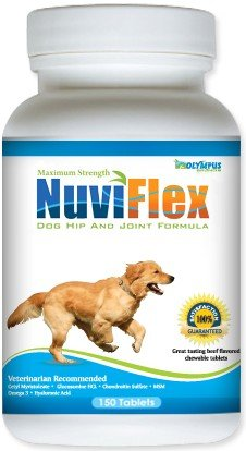 Nuviflex Dog Hip and Joint Formula Beef (150 tabs), My Pet Supplies