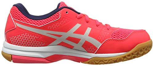 Volleyball Women's 8 Rocket Pink Grey Diva Shoes Gel Glacier Pink 700 Asics dIHgpxqH