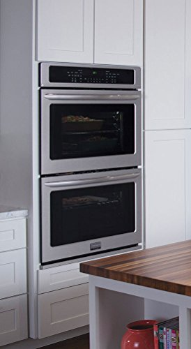 Frigidaire Gallery Collection Built-In Bundle Featuring 30″ Double ELECTRIC Wall Oven and 30″ Smoothtop ELECTRIC Cooktop