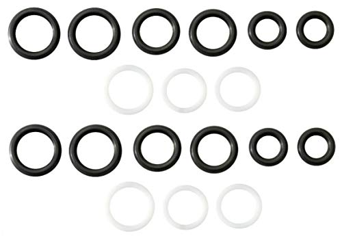 Engine Stand Pipe & Front Port Plug Seal Kit For 6.0L 04-10 Ford Powerstroke VT365