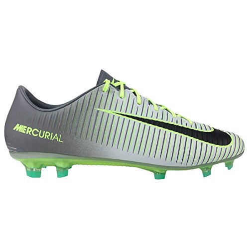 Nike 847756-003 Football Boots, Man, Grey (Pure Platinum/Black/Ghost Green), 46