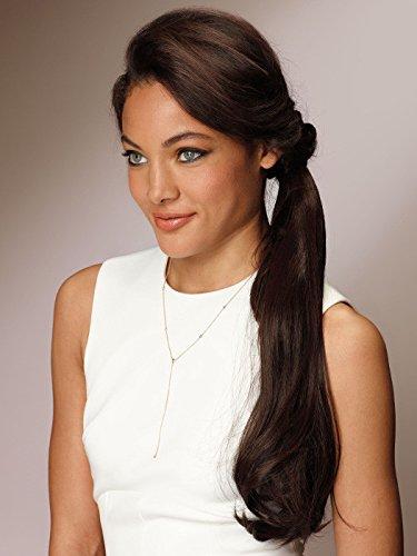 wrap wear ponytail