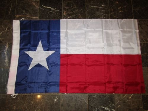 USA Seller3x5 Embroidered Texas 2ply 300D Nylon Texas Flag 3039,x5039, Banner Sleeve Pole Ties+ bonus e-book with pictures (Embroidered Nylon Tie)