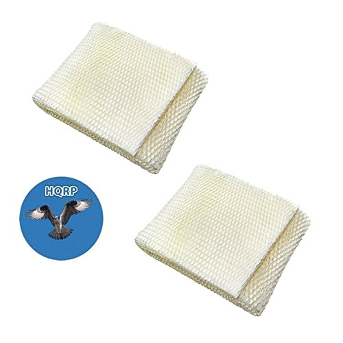 HQRP 2-pack Wick Filter for MoistAir MAF1 Replacement, MA-0950 MA-1200 MA-1201 MA-09500 MA-12000 MA-12001 MA-12010 Humidifier + HQRP Coaster (Best Air Humidifier Filter Ef1)