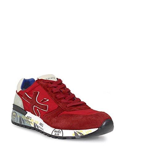 PREMIATA - Botas de senderismo para hombre rojo rojo 41 Rojo