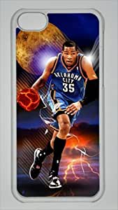Kevin Durant Oklahoma City Thunder #35 NBA Custom PC Transparent Case for iPhone 5C by icasepersonalized