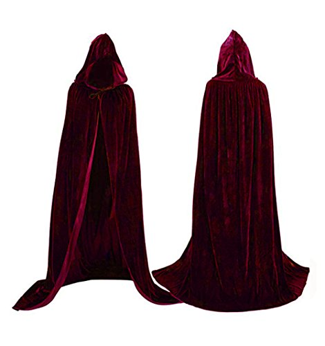 Top 10 best velvet cloak with hood: Which is the best one in 2019?