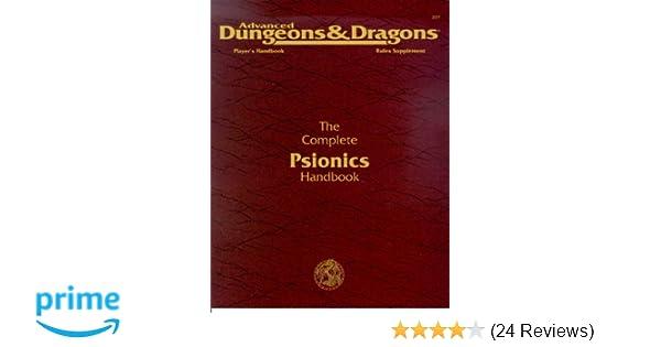 Complete Psionics Handbook (Advanced Dungeons & Dragons