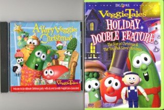 A Very Veggie Christmas.Amazon Com Veggie Tales Holiday Double Feature Dvd A