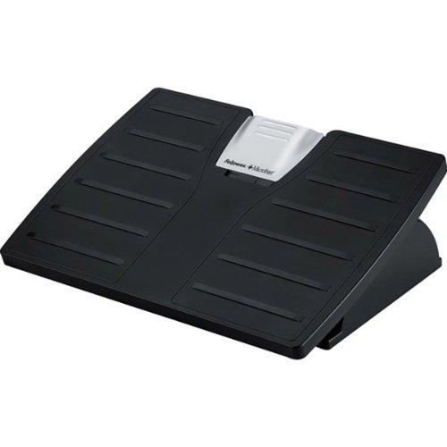 Microban Adjustable Footrest - FEL8035001 - Fellowes Adjustable Locking Footrest w/Microban