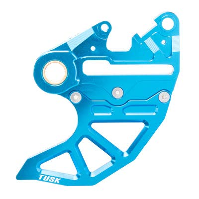Caliper Rear Guard (Rear Brake Caliper Support w/Brake Disc Guard Blue for Husqvarna FE 501 2014-2017)