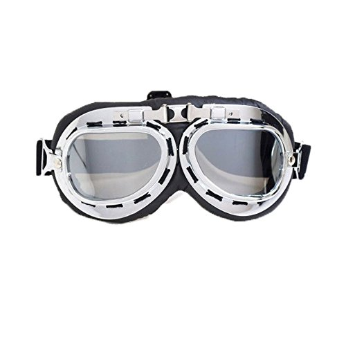 Vintage Motorcycle Goggles   Anti Uv Adjustable Motorcycle Glasses Motocross Pilot Scooter Goggles Harley For Kids  Men And Women