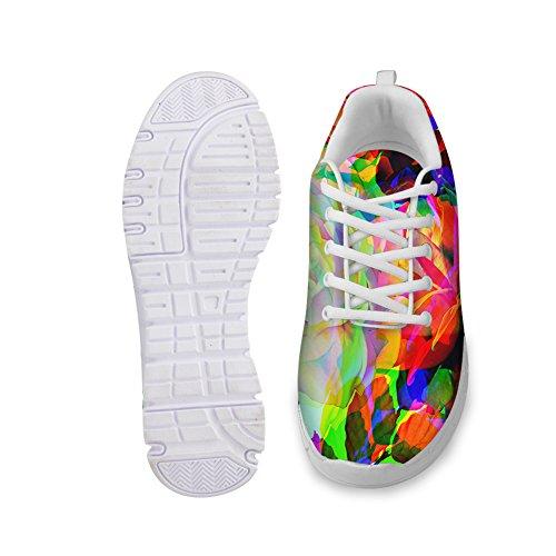 IDEA 17 de Y Zapatillas Para Running HA007AQ Mujer HUGS Floral wUvqdAw