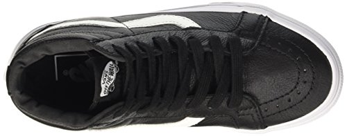 Leather Black Unisex Premium Leather Reissue Vans Nero Hi Sneakers Sk8 U wqx7SIp