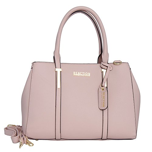 Kenneth Cole Reaction KN1860 Triple Entry Harriet Satchel Handbag (BLUSH) (Cole Reaction Kenneth Purse)