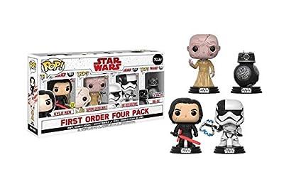 Star Wars First Order Four Pack Vinyl Bobble-Heads (Kylo Ren, Supreme Leader Snoke, First Order Executioner, BB-9E)