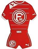 Fortuna Düsseldorf 3D Magnet Trikot [rot]
